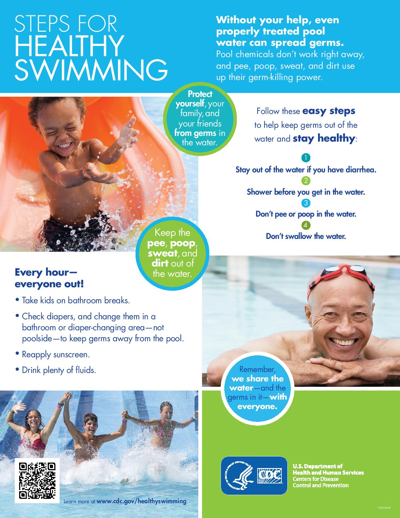 Steps for Healthy Swimming