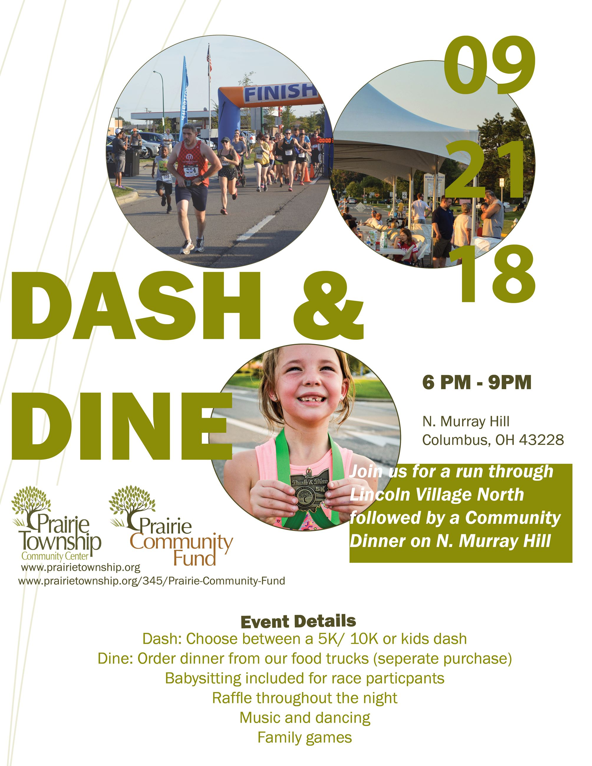 Dash & Dine Flyer